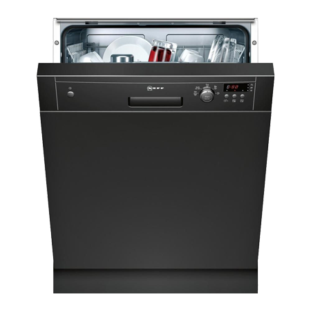 NEFF S41E50S1GB, Semi-integrated Dishwasher with 12 place settings and A+ Energy Rating