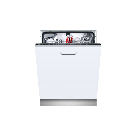 NEFF S513G60X0G, Fully Integrated Dishwasher with Black Control Panel - A++ Rated & 12 place settings