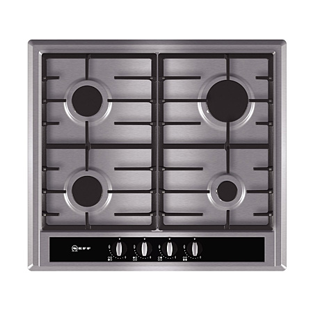 NEFF T23S36N0GB, 60CM 4 Burner Gas Hob