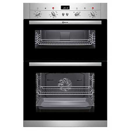 NEFF U12S53N3GB, 60cm Electric Double Oven