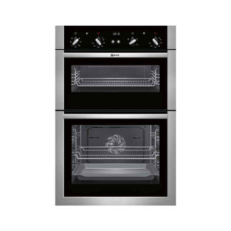 NEFF U14M42N5GB, Fan Assisted Electric Double Oven.Ex-Display Model