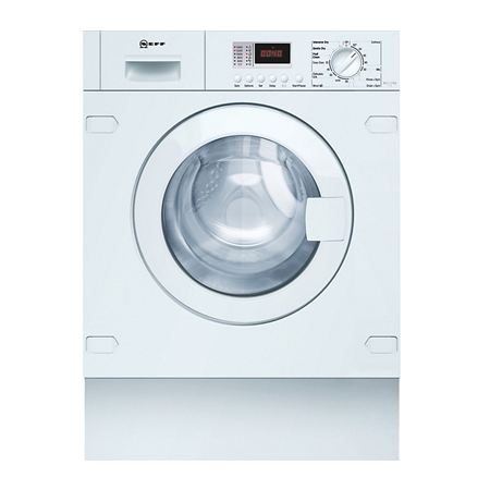 NEFF V6320X1GB, Built-In 7kg Washer/4kg Dryer with B Energy Rating &1400rpm Spin Speed