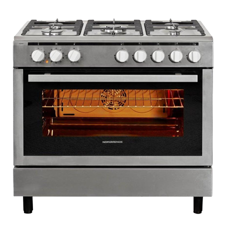 NordMende CSG92IX, 90cm Dual Fuel Range Cooker Stainless Steel