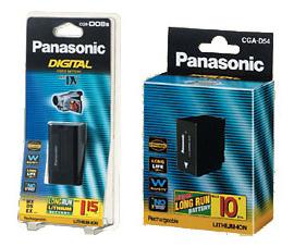 Panasonic CGRD08SE1B, Panasonic CGRD08SE1B Battery