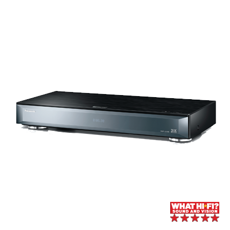 Panasonic DMPUB900EBK, 4K Ultra-HD Smart Blu-ray Disc Player