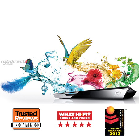 Panasonic DMPBDT320EB, Smart Network 3D Blu-Ray Disc Player, MultiRegion