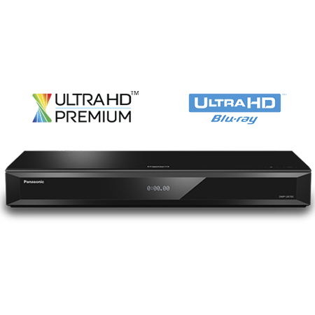 Panasonic DMPUB700EBK, Ultra-HD 4K Smart Blu-ray Disc Player with Built-in Wi-Fi