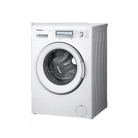 Panasonic NA127VB6WGB, 7kg 1200 rpm Fully Automatic Washing Machine with A+++ Energy Rating - White