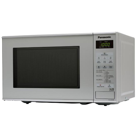 Panasonic NNE281MMBPQ, 800W Compact Microwave Oven in Grey