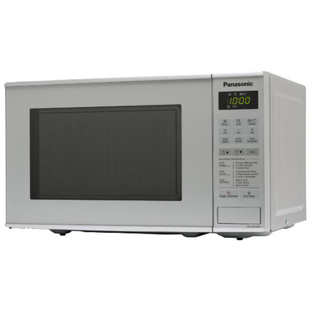 Panasonic NNK181MMBPQ, 800W Compact Microwave & Grill Oven in Grey