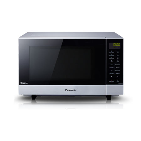Panasonic Nnsf464mbpq Flatbed 1000w Microwave Oven In Silver