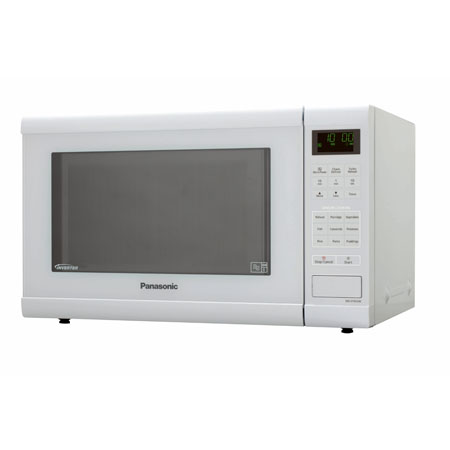 Panasonic NNST452WBPQ, 900W Family Size Inverter Microwave Oven - White Colour