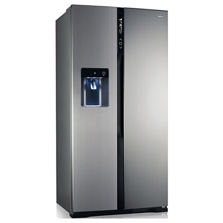 Panasonic NRB53V2XB, US Style Side by Side Fridge Freezer  with A++ Energy Rating -Stainless Steel.