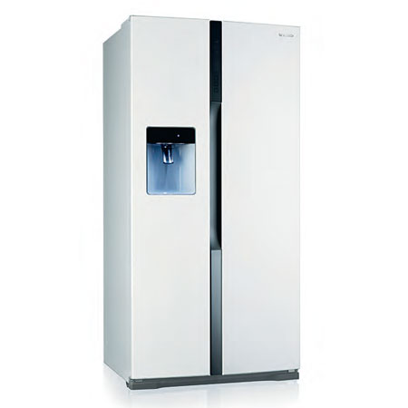 Panasonic NRB53VW2WB, Side by Side Refrigerator in Artic White.