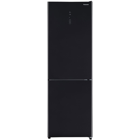 Panasonic NRBN30QGBB, 301 litre Fridge Freezer with No Frost in Black with A+ Energy Rating