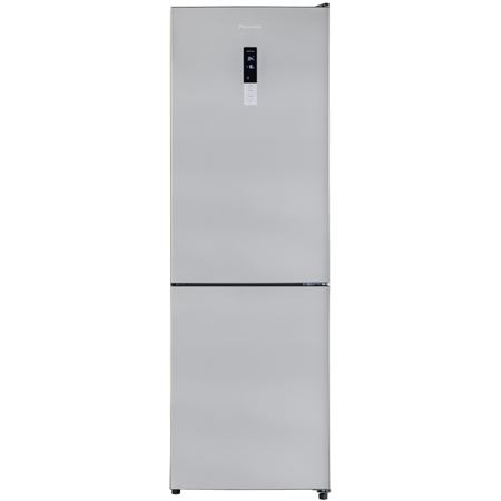 Panasonic NRBN30QS1B, 301 litre Fridge Freezer with No Frost in Silver Steel with A++ Energy Rating