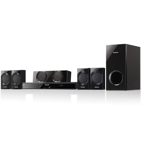 Panasonic SCBTT190EBK, 5.1ch Full HD 1080p 3D Blu-Ray Disc Home Cinema System