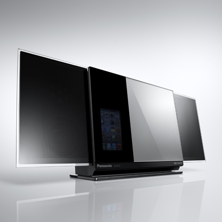 Panasonic SCHC37DBEBS, Compact Stereo System with iPod/iPhone Dock