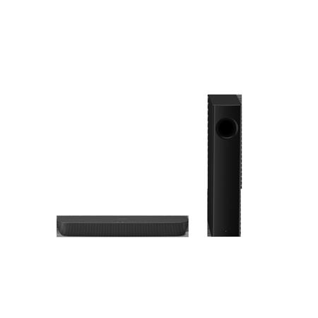 Panasonic SCHTB258EBK, 2.1 Ch Bluetooth Sound Bar with Wireless Subwoofer.Ex-Display Model