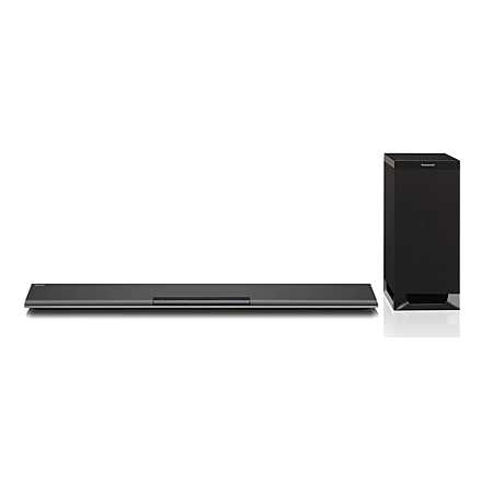 Panasonic SCHTB485EBK, 2.1Ch 250W Bluetooth Soundbar with Wireless Subwoofer