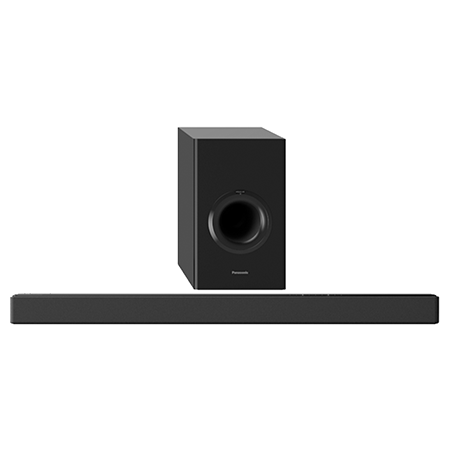 Panasonic SCHTB488EBK, Smart Bluetooth 2.1 Soundbar with Wireless Sub
