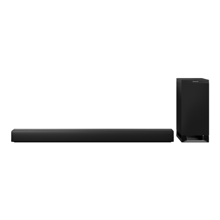Panasonic SCHTB900EBK, 3.1ch Dolby Atmos Soundbar with Bluetooth & Chromecast built-in