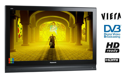 Panasonic TH37PX70B, 37 HD Ready Viera Plasma TV