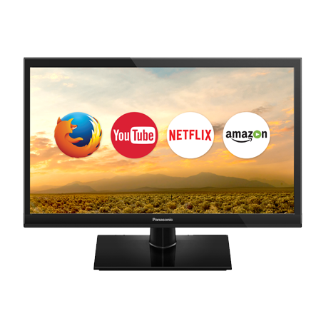 Panasonic TX24DS500B, 24 HD Ready Smart LED TV with Built-In WiFi