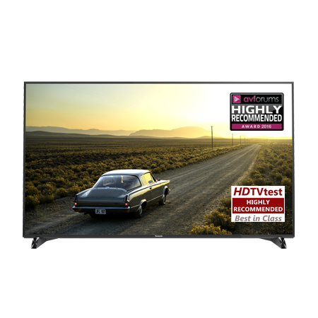 Panasonic TX65DX902B, 65 Ultra HD 4K Smart 3D LED TV Black with Freeview HD, Freesat HD & THX 4K Display. Ex-Display Model.