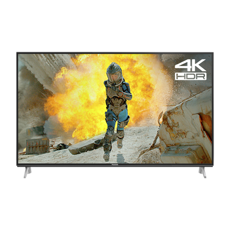 Panasonic TX55FX650B, 55 Ultra HD 4K HDR LED Smart TV with Freeview