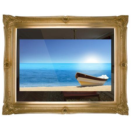 PictureFrameTV PF46SE6, 46 Full HD 1080p Picture Frame Mirror LED TV ...