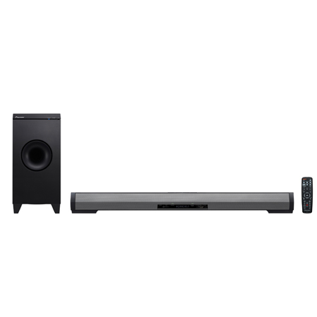 Pioneer SBXN700, 270W Network enabled Speaker Bar with Bluetooth, built-in Wi-Fi, Wi-Fi Direct, Miracast, Youtube Send to TV, DLNA and wireless subwoofer