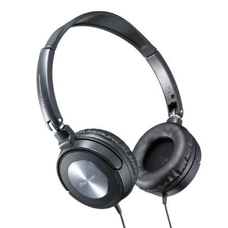 Pioneer SEMJ31, Street Move Foldable Fully Enclosed Dynamic Headphones With Powerful Bass