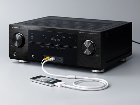 Pioneer VSX1021K, 7.1ch HDMI 3D AV Receiver with HD Audio, iPod/iPhone/iPad Digital Direct, AirPlay, DLNA and Internet Radio