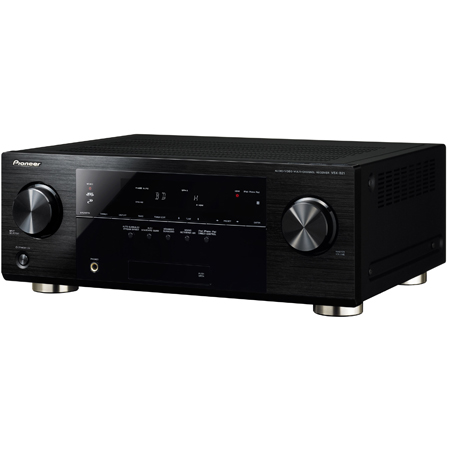Pioneer VSX821K, 5.1ch HDMI 3D AV Receiver with HD Audio, MCACC, Front USB & iPod/iPhone/iPad Digital Direct
