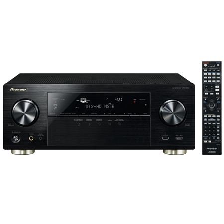 Pioneer VSX924K, 7.2 Channel AV Receiver with Ultra HD 4K Upscaling/Pass Through and Bluetooth