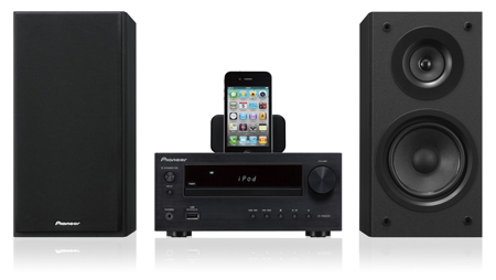 iphone radio tuner pioneer xhm20dabk micro sound system with ipod iphone 3035