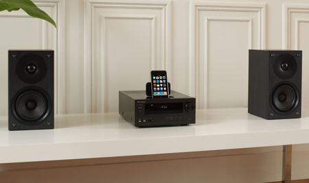 Pioneer XHM50K, Micro System with FM Tuner, DAB, USB and iPod Direct Connection