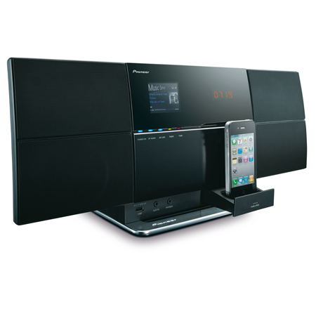 Pioneer XSMC3K, Slim, Wireless Multi-Room Micro System Made for iPod/iPhone with AirPlay & DLNA