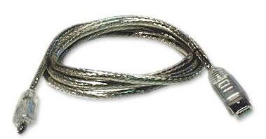 Profigold CL62002T, Profigold CL62002T 1.8m Firewire Cable 4P<>6P