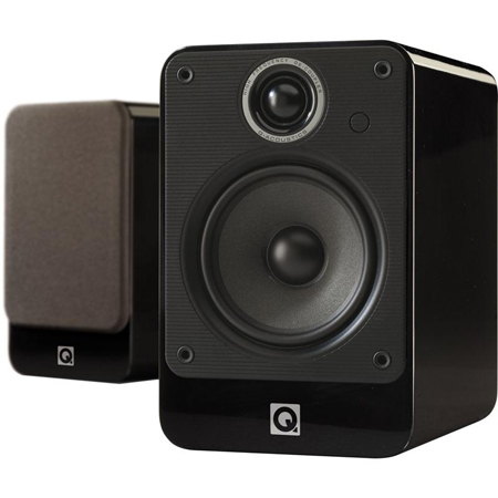 Q Acoustics QA2020i Black Gloss, 2000i Series 2020 Bookshelf Speakers
