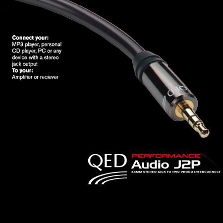 QED QE3001, Performance Audio J2P (1.5m)
