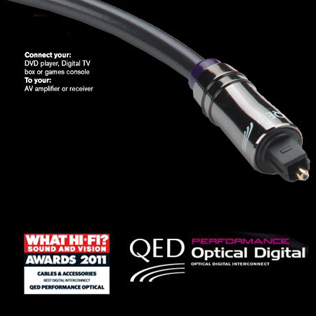 QED QE3010, Performance Optical Digital Interconnect (1.0m)