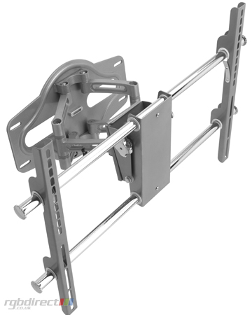 RD OPSA2, Universal Full Function Cantilever Wall Mount with Swivel for Large Flat Screens 37 inch to 55 inch