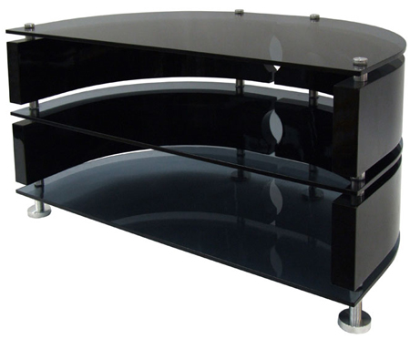 RGB ZIN372575BKI, Universal High Gloss Curved Unit for Screens upto 37