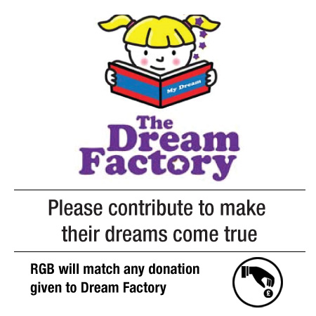 RGB DREAM FACTORY, Your Contribution to the Dream Factory is much appreciated