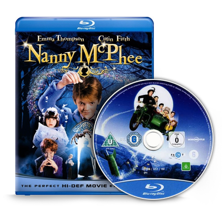 RGB Nanny McPhee 1 Blu Ray Movie, Nanny McPhee 1 Blu Ray Movie (2005)