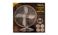 offer RGB Elpine 12 inch retro fan silver