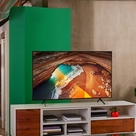 Samsung Qe55q60r 55 Inch Smart 4k Ultra Hd Hdr Qled Tv