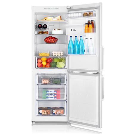 samsung rb29fwjndww freestanding fridge freezer with true no frost in white ex display model. Black Bedroom Furniture Sets. Home Design Ideas